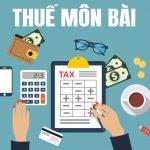 Thuế môn bài mới nhất
