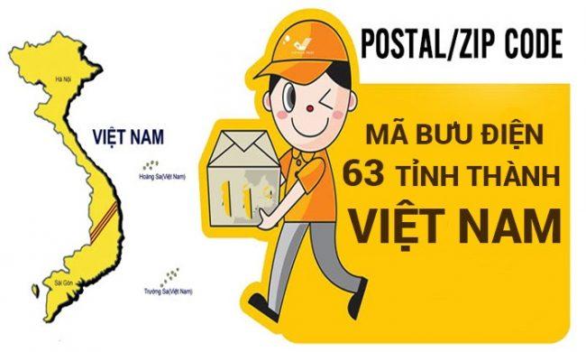 mã bưu điện zip code