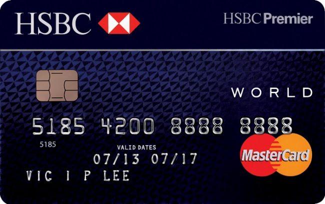 Thẻ tín dụng hsbc
