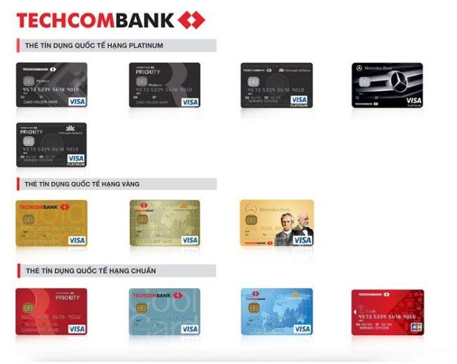 Thẻ tín dụng Techcombank